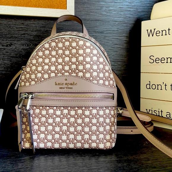 Kate Spade Mini Convertable Backpack.